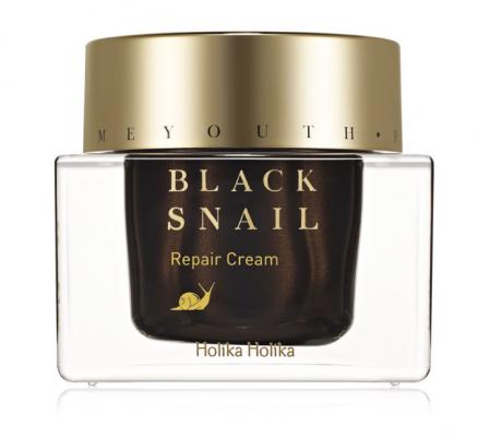 Восстанавливающий крем с муцином черной улитки Prime Youth Black Snail Repair Cream 50 мл: фото
